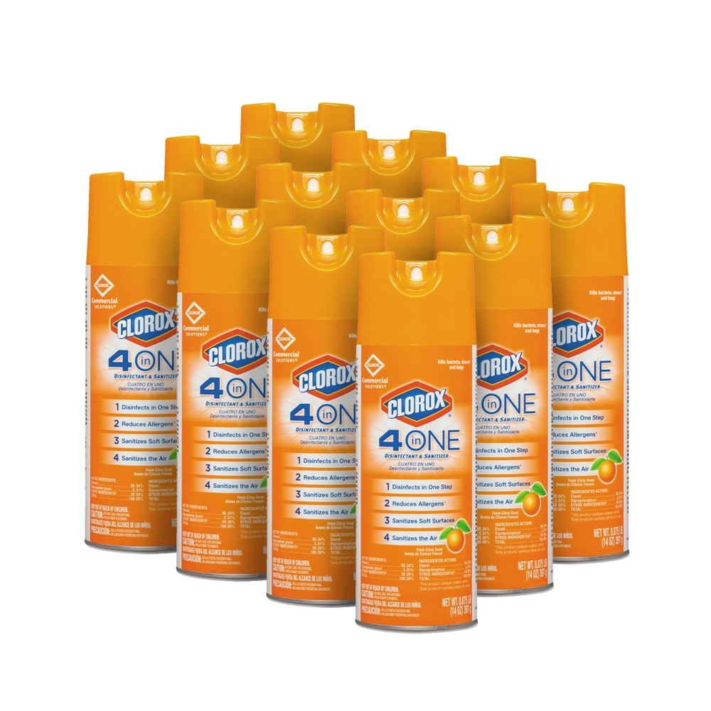 clorox 4 in 1 disinfectant spray
