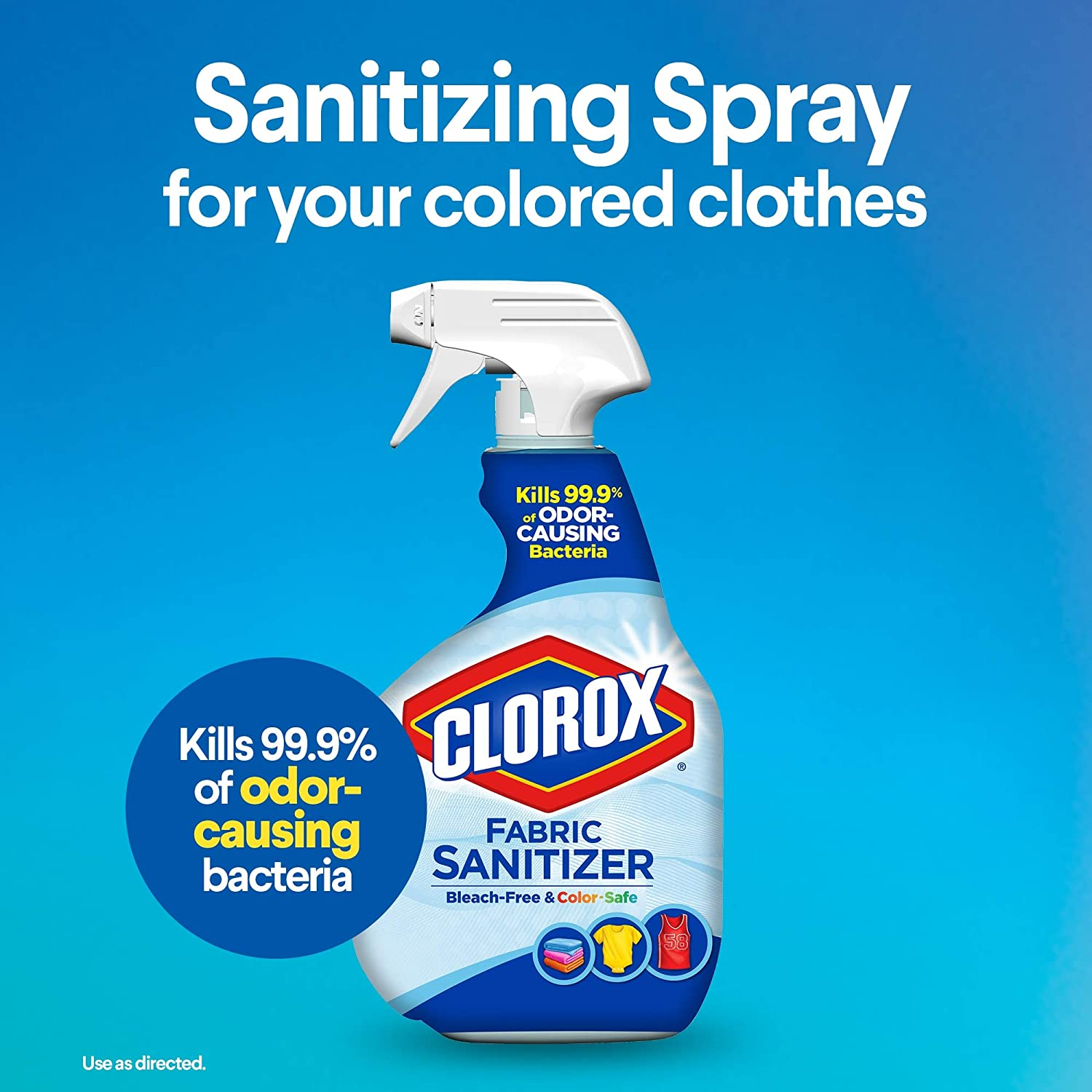 clorox fabric sanitizer spray