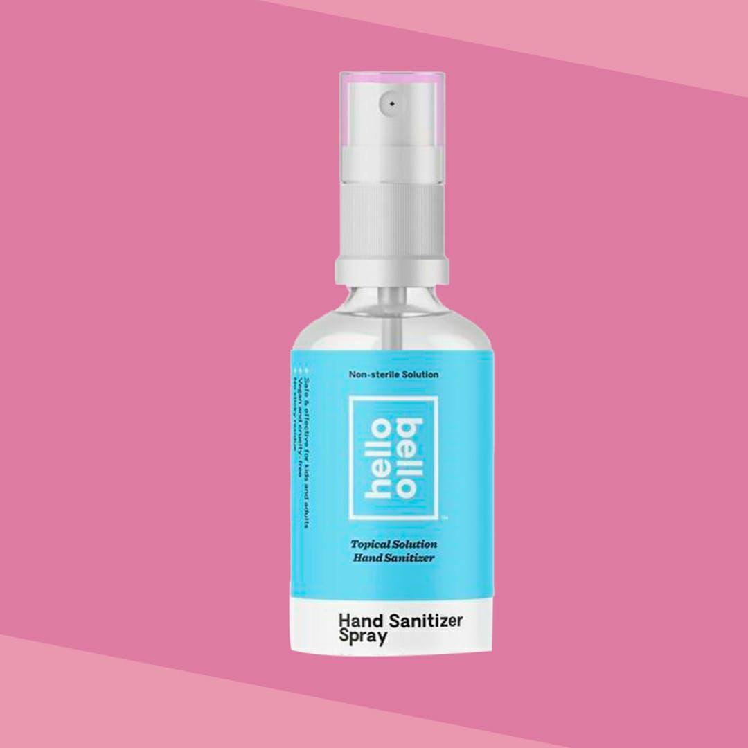 hello bello hand sanitizer spray