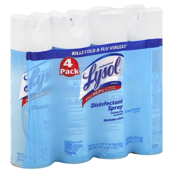 lysol disinfectant spray costco