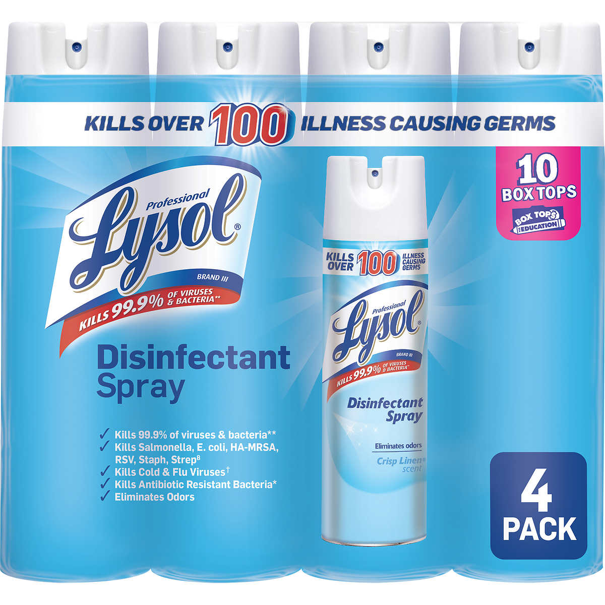 lysol disinfectant spray ingredients