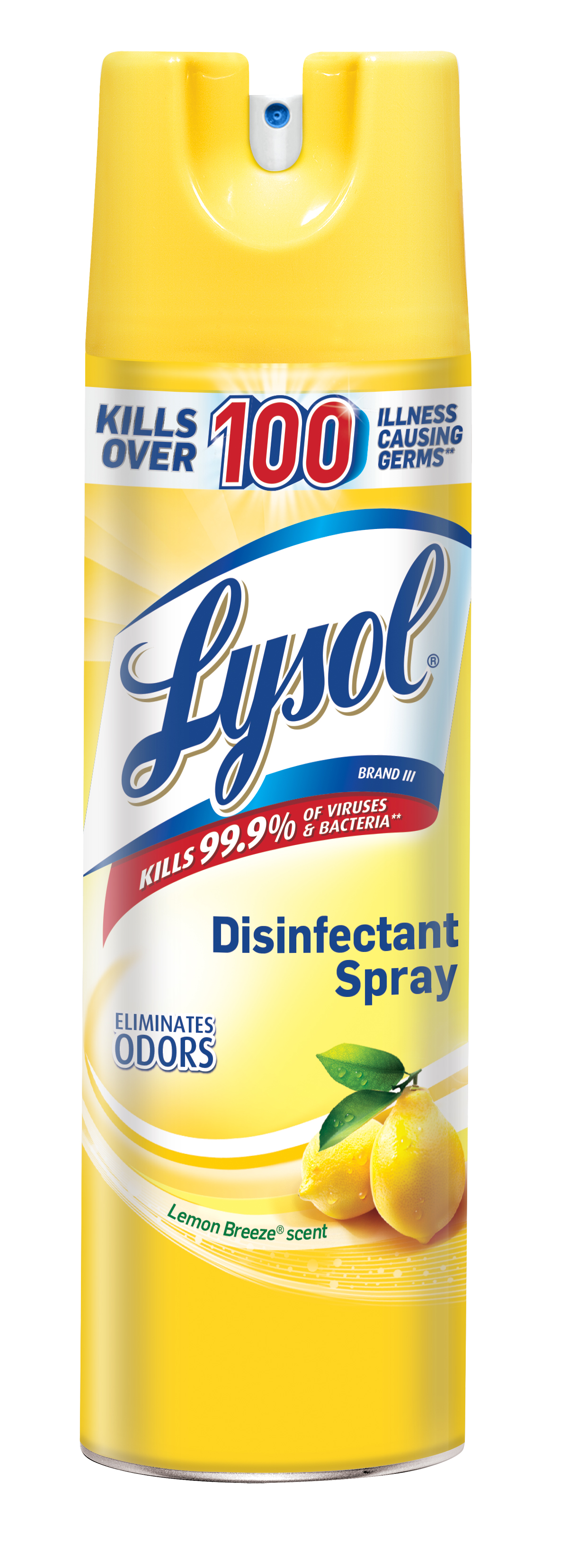 lysol lemon spray