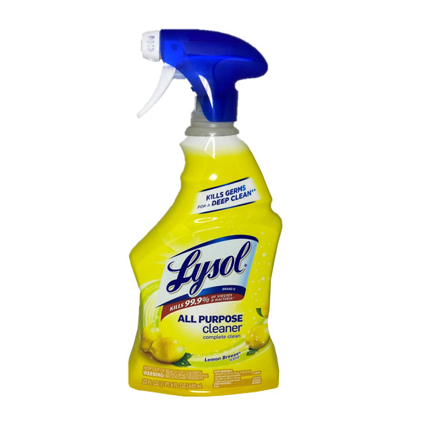 lysol spray cleaner