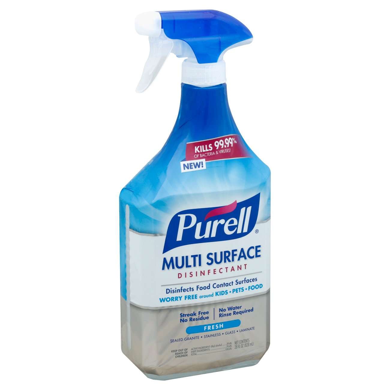 purell multi surface disinfectant spray